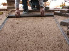 Smoothing Ground for Pavers